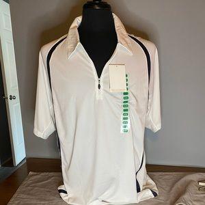 Men's NWT Avia moisture wicking polo shirt.